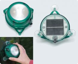 Solar window light