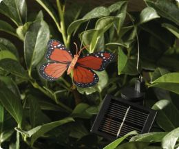 solar butterfly twinpack (red & yellow)