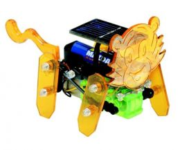 Lion solar powered model kit